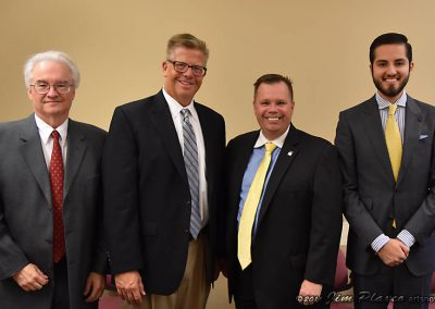 Space Policy Blitz 2016 - Jim Plaxco, Representative Randy Hultgren, Andrew Gasser, and Amador Salinas