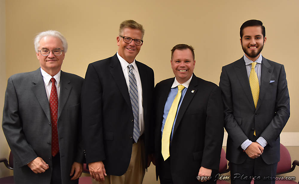 Space Policy Blitz 2016 with Jim Plaxco, Representative Randy Hultgren, Andrew Gasser, and Amador Salinas