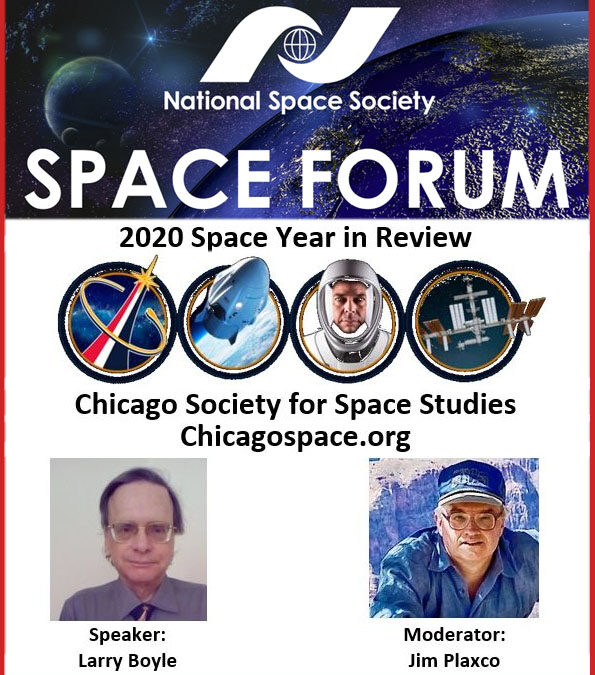 National Space Society Space Forum 2020 Space Year In Review
