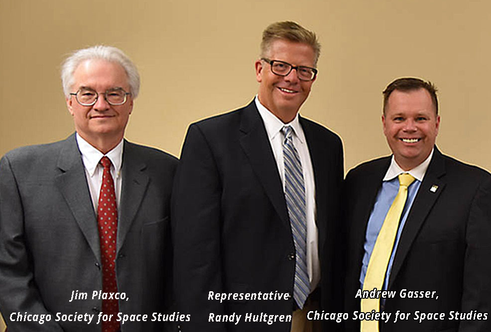 Space Policy Blitz 2016 with Jim Plaxco, Representative Randy Hultgren, and Andrew Gasser