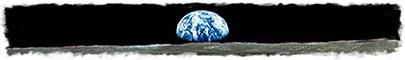 Earthrise Over the Moon