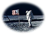 Apollo Astronaut on the Moon