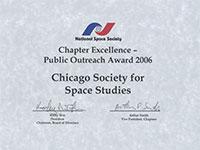 NSS 2014 Award of Special Merit For Speaker Programs